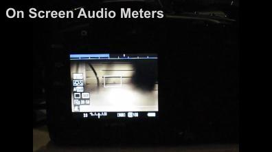On Screen Audio Meters